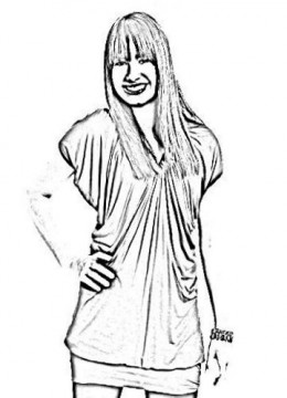 demi lovoto coloring pages | Demi lovato coloring pages