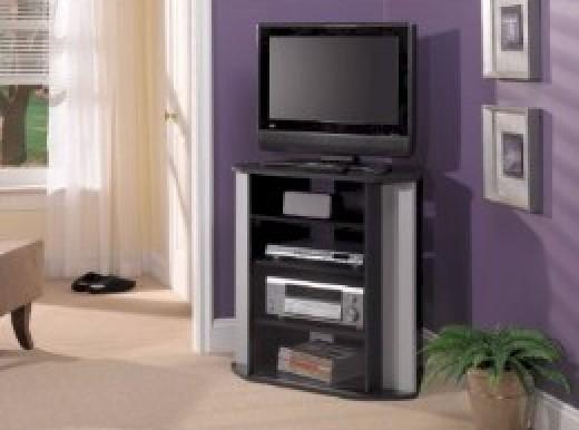 Corner Flat Screen TV Stand.