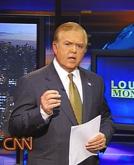 Lou Dobbs at CNN.