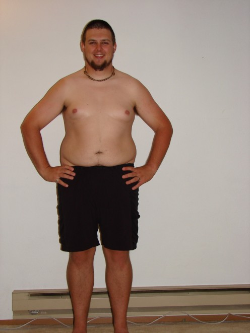 Me at 275 pounds on January 14th, 2011. I look forward to showing off my progress!