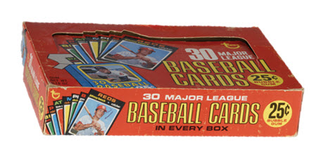 1971 Topps BB Cello Box