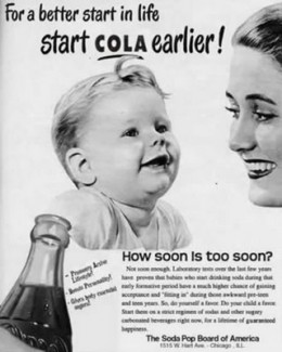 Fictional advertisement