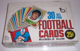 1970 Topps Football Cello Box