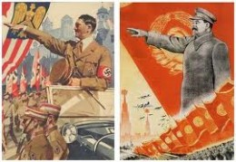 The socialist states of NAZI Germany and The Soviet Union