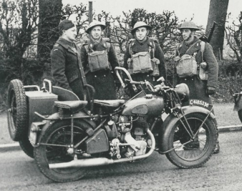 british army with the norton big four