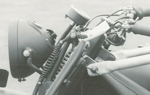 headlamp detail