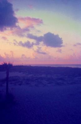 Sunset at Fort Walton Beach