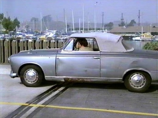 "Lt. Columbo's '59 Peugeot 403 cabriolet. He said it was ""rare"" and he was right. Only 500 convertibles were made."
