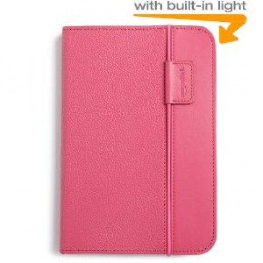 eReader Cover - Buy A Pink Kindle Lighted Leather Cover