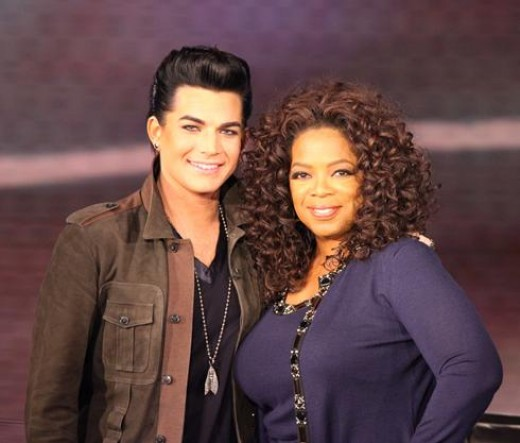 Adam appearing on the Oprah Winfrey Show