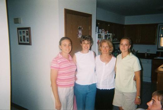 Cara, Danette, Denise, Christa  2005