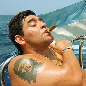 Diego Armando Maradona in Cuba