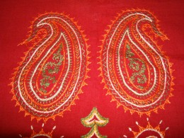 Indian embroidery works