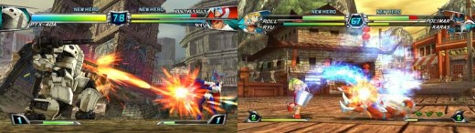 Wii Games to Play with Friends - Tatsunoko vs Capcom: Ultimate All Stars
