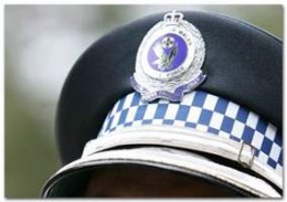 The formal wear NSW Police Cap.  Like the British Bobby's helmet, it represents a policeman in charge of events.  It is a badge of authority. Pity so many wear baseball caps today...