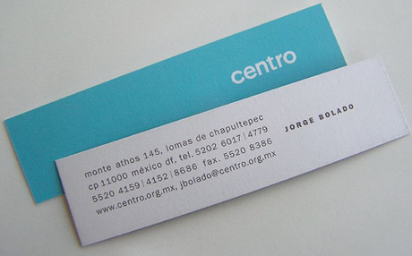 Business Card for Perfume Testers (or others who engage in the perfume business; of course, that card is scented!)