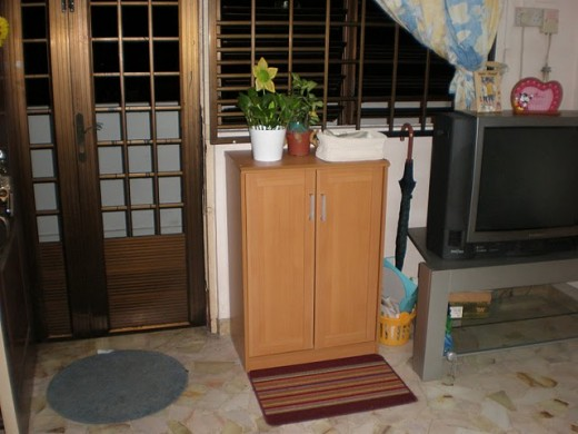 An HDB Resale House in Singapore - Interiors and facilities