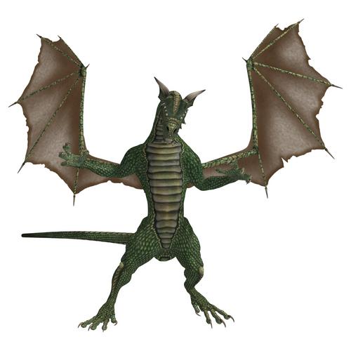 Basilisk, a mythical dragon-like creature. Image: KathyGold|Shutterstock.com