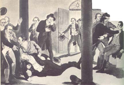 After Perceval was shot. Image Wikipedia