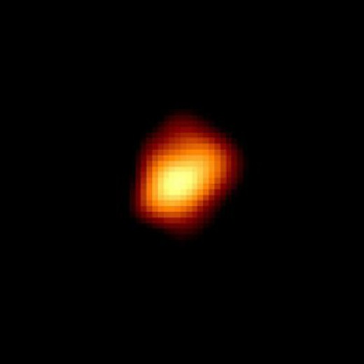 A red giant star Mira