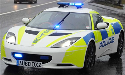 Lotus Evora: World's coolest ever Police cars.