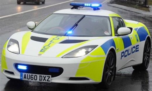 Lotus Evora: World's coolest ever Police cars.