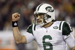 Mark Sanchez Jan 16, 2010 (Photo Stew Milne-US PRESSWIRE)