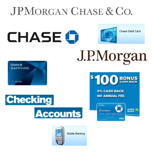 Chase Bank's digital banking services include online banking, online bill pay, online money transfers, the Chase mobile banking app, ATM access, Chase QuickPay, Chase Quick Deposit, account alerts, paperless statements and ApplePay.