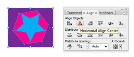 Use Align Panel