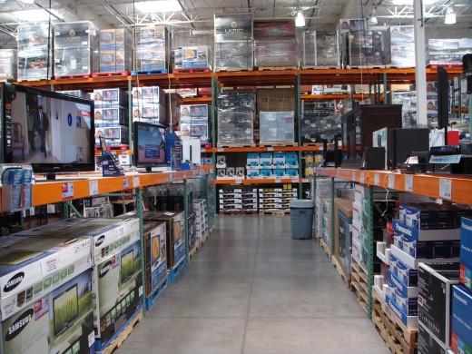 Wholesale: Buy goods in bulk to save money