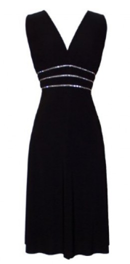 Black Cocktail Dress (Available in all sizes)