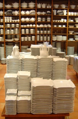 Buy porcelain by the kilo!