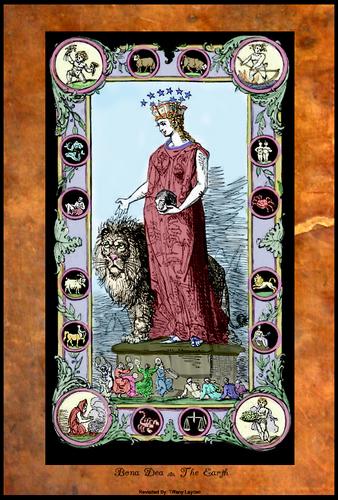 The Roman Goddess Bona Dea