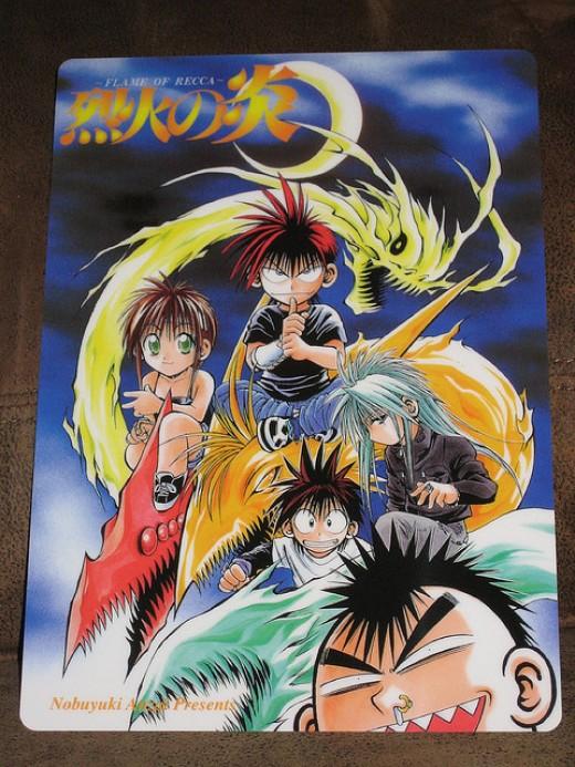 Flame of Recca - manga