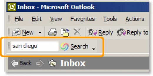Google Desktop even integrates itself into Outlook!