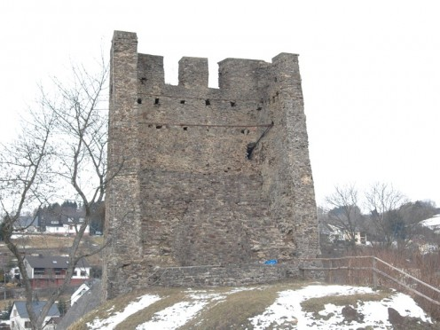 Dasburg's ancient castle