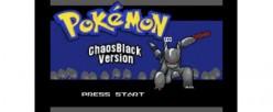 Pokémon Chaos Black
