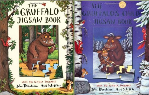 Gruffalo Book Cover Gruffalo Jig Saw Book Covers