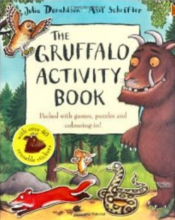 Gruffalo Activity Book Front Cover