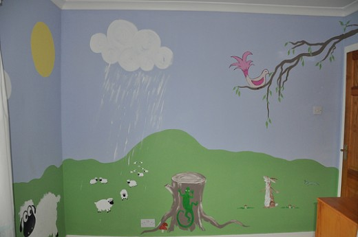 This beautiful landscape is perfect for a nursery.