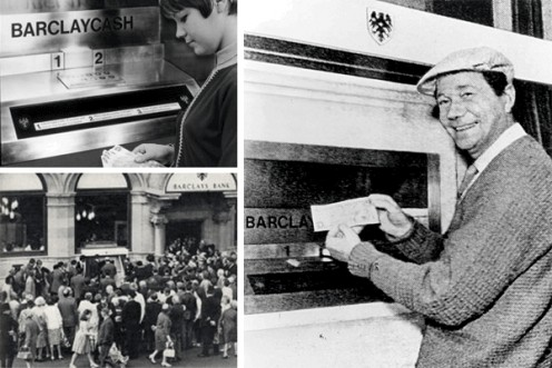 John Shepherd-Barron, Worlds First ATM & The First Transaction, 1967