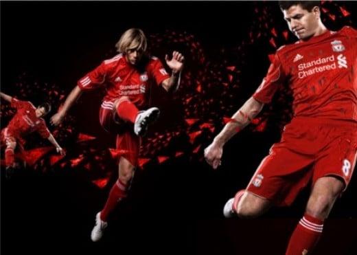 New Liverpool Kit - Home Shirt, Short And Socks
