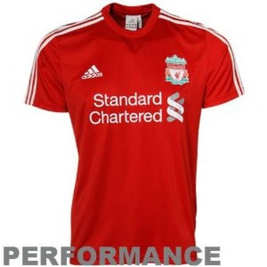 Liverpool Shirt 2010-2011 - Home (Short Sleeved)