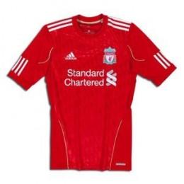 Liverpool 10/11 Home Techfit Football Shirt