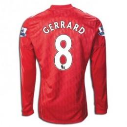 Steven Gerrard Long Sleeved Home Shirt