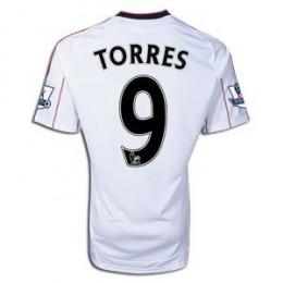 Liverpool Away Jersey For 2010-2012 - Fernando Torres