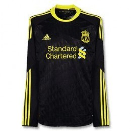 Liverpool Shirt For 2010-2011 (Long Sleeve)