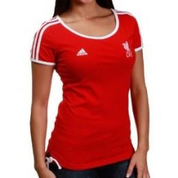 Liverpool 10/11 Culture Women's Soccer T-Shirt - Front