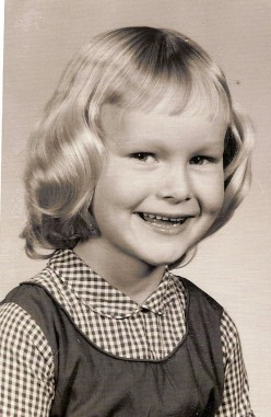 Little Blondie - Me in my Kindergarten photo!