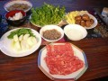 Thai Food Recipe - How To Make Sukiyaki, Thai Style Soup